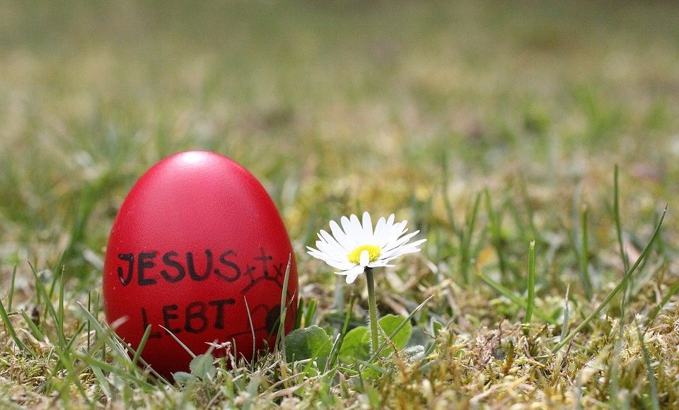 Das Ei an Ostern