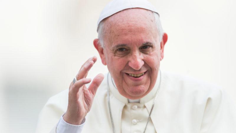 Papst Franziskus besucht die Schweiz