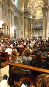 Gottesdienst in Bologna