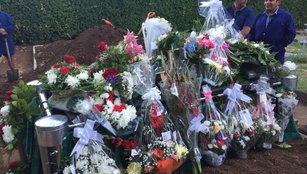 Das Grab von Sr. Veronica