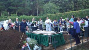 Die Beisetzung von Sr. Veronica