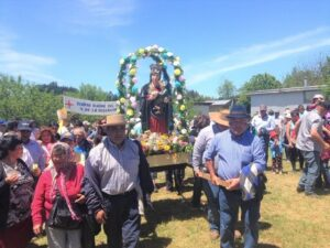 Marien-Prozession in St. Juan de la Costa