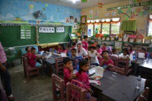 Die Schule mit vielen Kindern