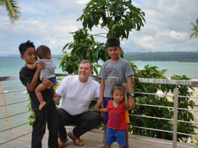 Karl Wolf auf den Philippinen