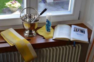 Katholische Kirche Küsnacht Erlenbach SozialprojektAlles bereit für die Segnung