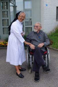 Im Gespräch mit P. Benedikt