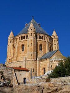 Die Dormitio-Abtei in Jerusalem
