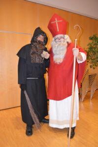 Samichlaus und Schmutzli der Katholischen Kirche Küsnacht Erlenbach