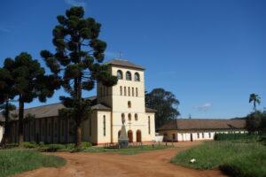 Die Klosterkirche von Uwemba