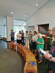 Am Ende der Fortbildung wird die Hl. Messe Gefeiert